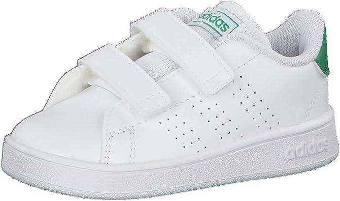 adidas Shoes Boys School Sports Infant Toddler Lifestyle Advantage Fashion Kids EF0301 New