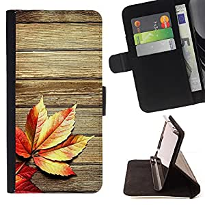 DEVIL CASE - FOR HTC Desire 820 - Autumn Wood Grain Texture Lines Rustic - Style PU Leather Case Wallet Flip Stand Flap Closure Cover