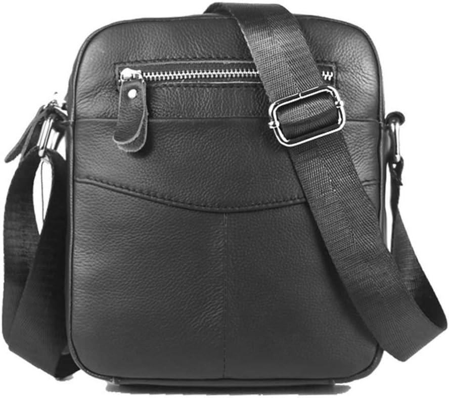 Color : Black Gilibibe Messenger Bag Sports Pouch Mens Shoulder Bag