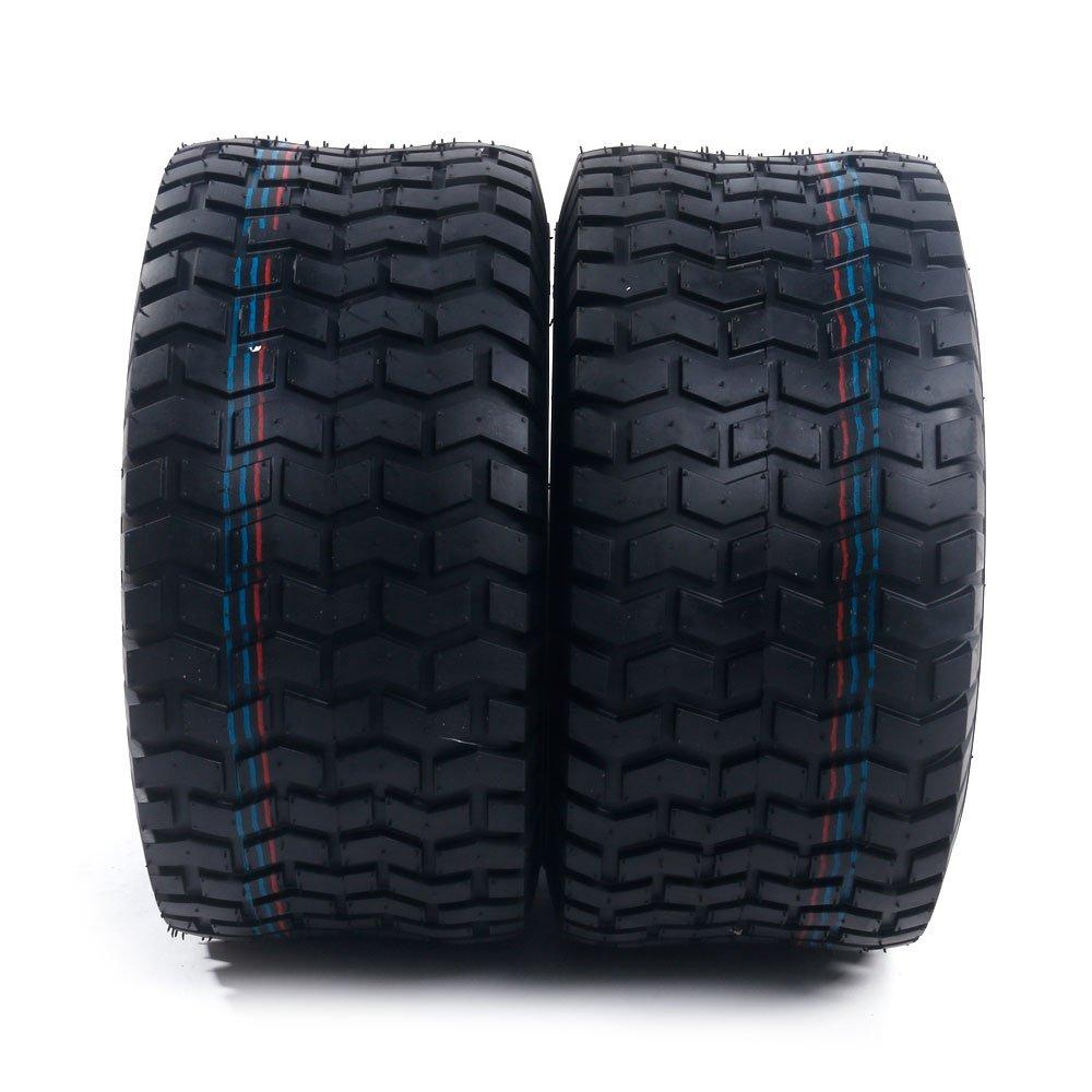 2x 18x8.50-8 Turf Saver Lawn & Garden Tire 4PR Lawn Mower Golf Cart Tires by Motorhot (Image #2)