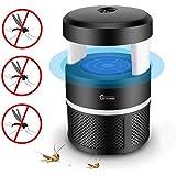 Moustique tueur lampe, Piège à insectes USB LED Smart Intérieur pièges à moustiques LED Lumière ultraviolette Bug Zapper, pas de produits chimiques (Noir)