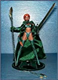 Emerald Medieval Witchblade Action Figure Exclusive Variant - Added Green Cloth Cape plus Metallic Emerald Clothes -