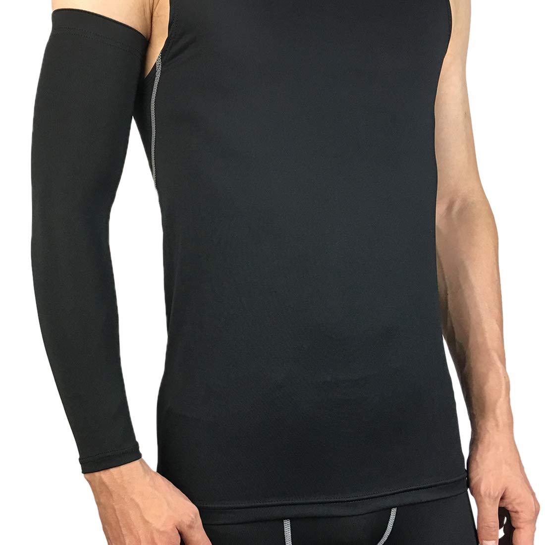 wenyujh Manche de Bras Manchon de Compression pour Sports Homme Unisexe Cover Anti-UV Protection Cyclisme Fitness Alpinisme