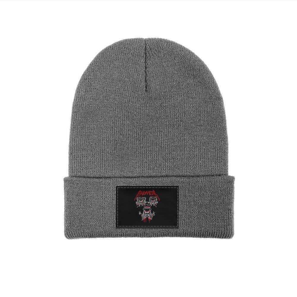 YJRTISF Popular Music Winter Fine Knit Cap Style Trending Beanie Hat for Men