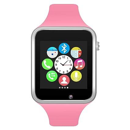 Amazon.com: Padgene Bluetooth Fitness Smartwatch, Touch ...
