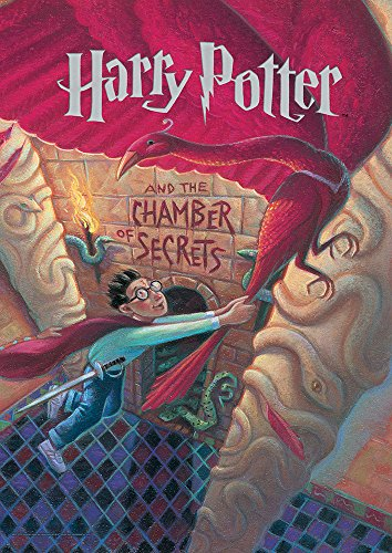 MightyPrint Harry Potter (Book Cover - Chamber of Secrets) Wall Art Next Generation Premium Print