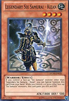 EN042 Yu Gi Oh Cards  THE SIX SAMURAI Card//Limited Edition//GLD2