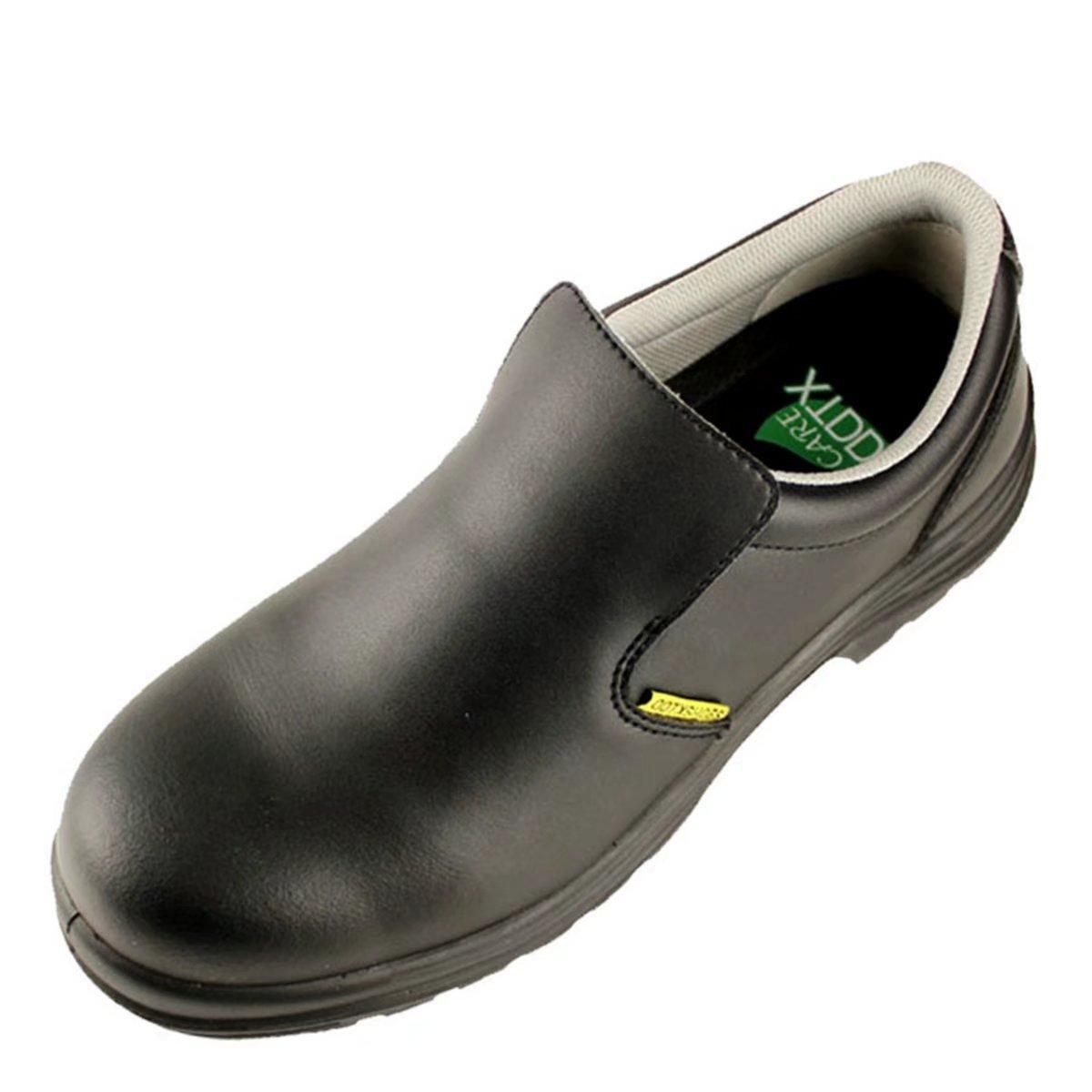 DDTX Zapatos de Seguridad Hombre Antideslizante S2 SRC Calzado de Trabajo Puntera de Composite Antiestá ticos Có modo Negro