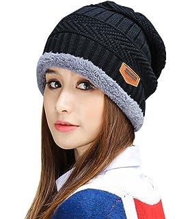 9beba2c8572 HINDAWI Womens Slouchy Beanie Winter Hat Knit Warm Snow Ski Skull Cap
