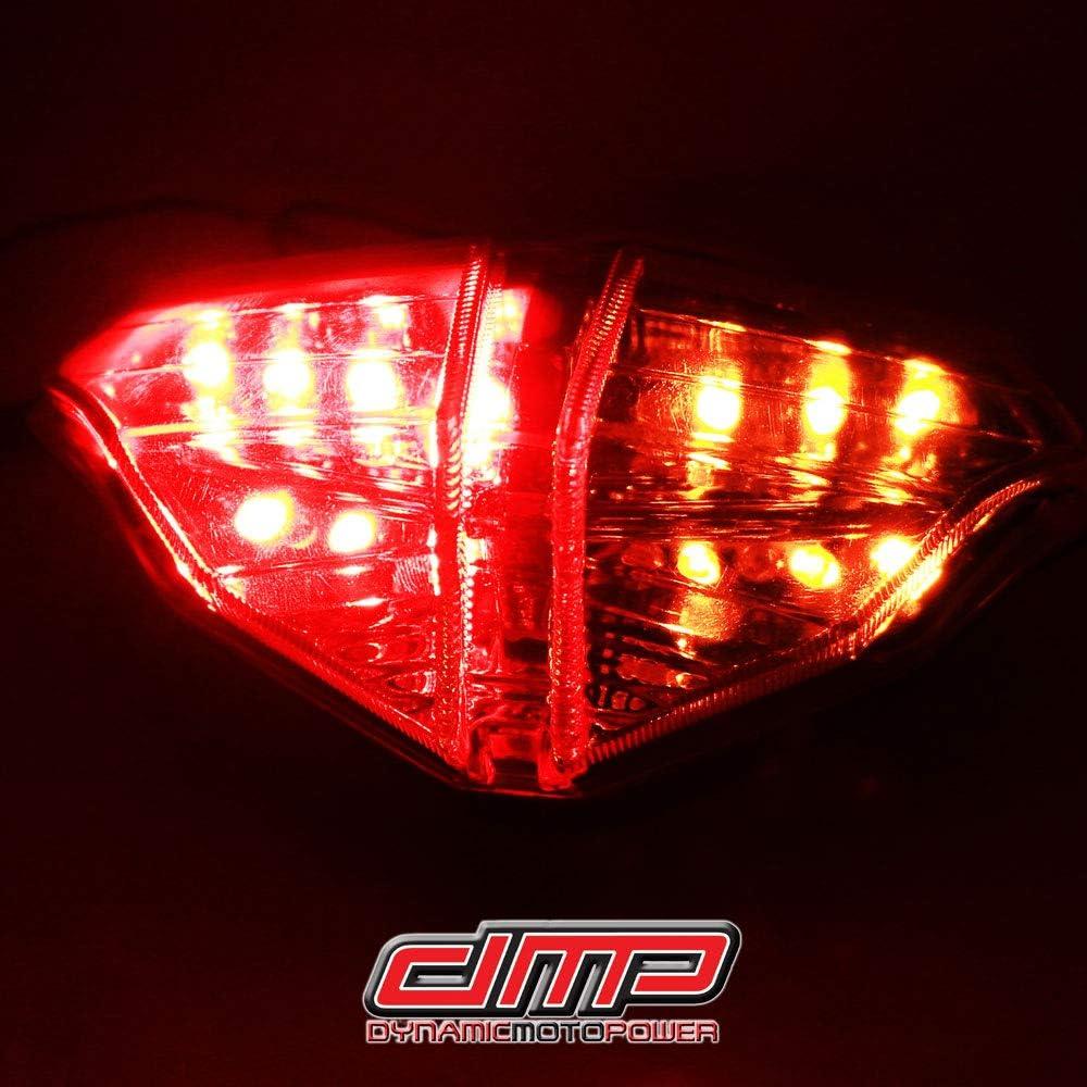 DMP 2008 2009 2010 2011 2012 2013 Ducati 848 2007 2008 2009 Ducati 1098 1098S 2009 2010 2011 Ducati 1198 Clear Integrated LED Tail Light