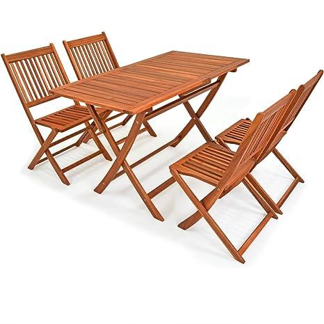 fbadb503e6 Deuba Wooden Garden Furniture Dining Set Sydney Light FSC®-Certified ...
