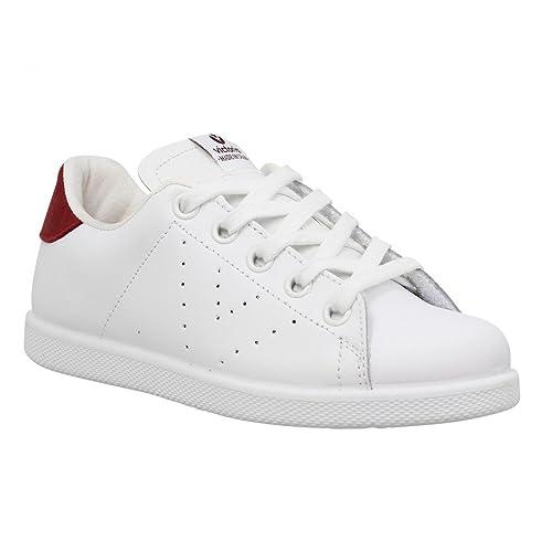 Victoria Zapatillas de Deporte Para Niño, (Blanc Rojo), 34: Amazon.es: Zapatos y complementos
