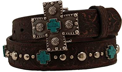Amazon Ariat Accessories Womens Braided Concho Buckle