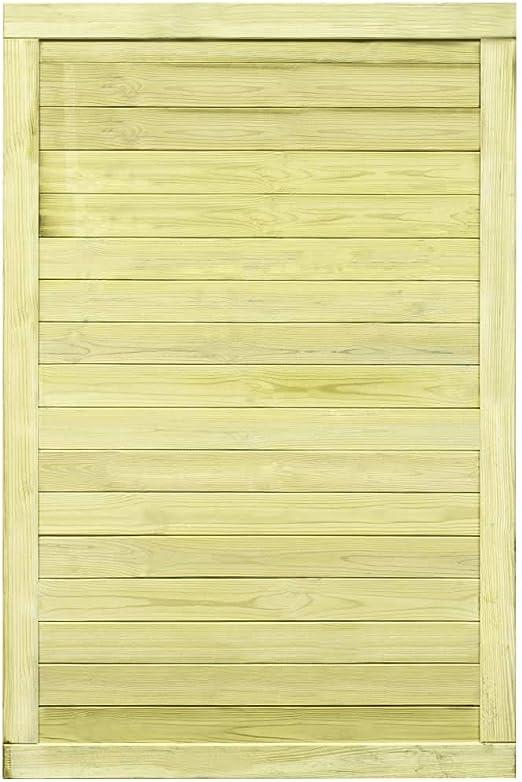 ghuanton Puerta de Valla de Madera de Pino impregnada FSC 150x100 cmBricolaje Vallas de jardín Puertas de jardín: Amazon.es: Hogar