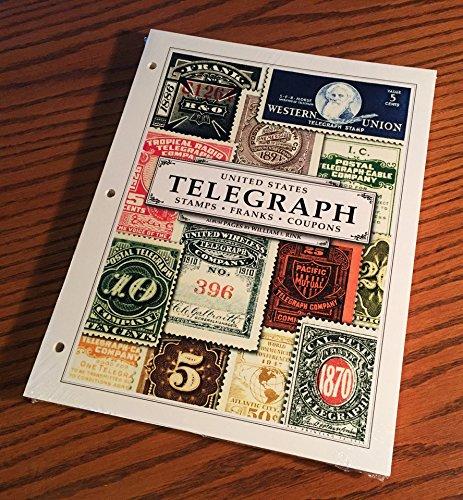 U.S. Telegraph Stamp Album Pages