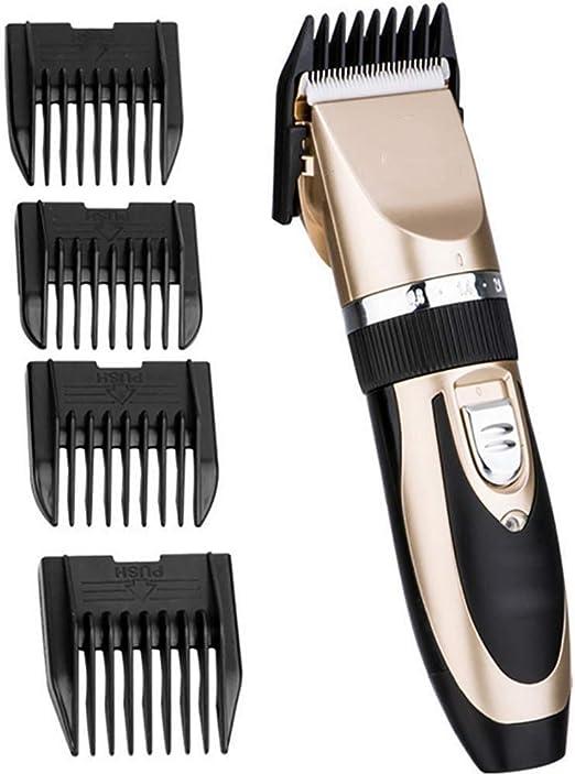 HHXX Afeitadora Profesional Clipper, máquina de Afeitar Recargable ...