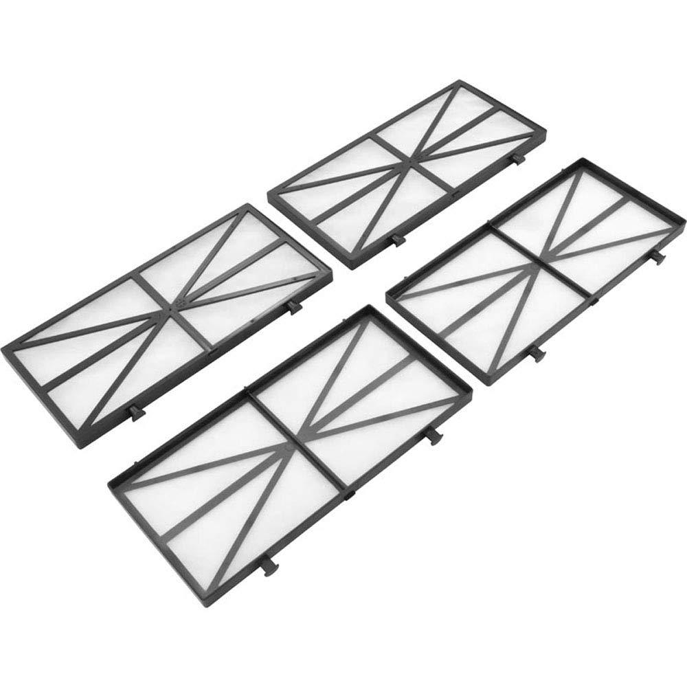 MAYTRONICS Spring Cartridge, Dolphin, Lg Filter Panels, Qty 4 by MAYTRONICS