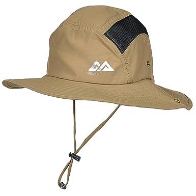 607c152e5 ViViLounge UPF50+ UV Sun Protection Boonie Hat Wide brim Sunshade ...