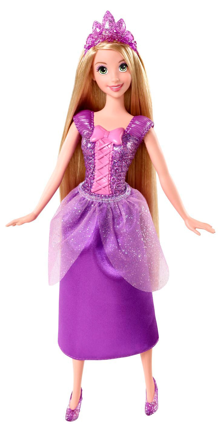 Mattel Disney Princess BBM05 - Märchenglanz Prinzessin Rapunzel, Puppe