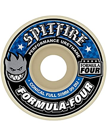 Spitfire SFWHFF060 - Juego de 4 Ruedas, Multicolor, 58 mm