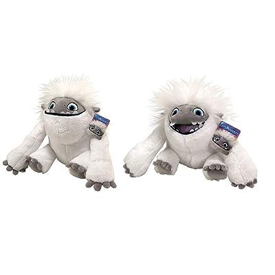 "DreamWorks New 12"" Set of 2 Abominable Everest The Yeti Soft Plush Toys: Toys & Games"
