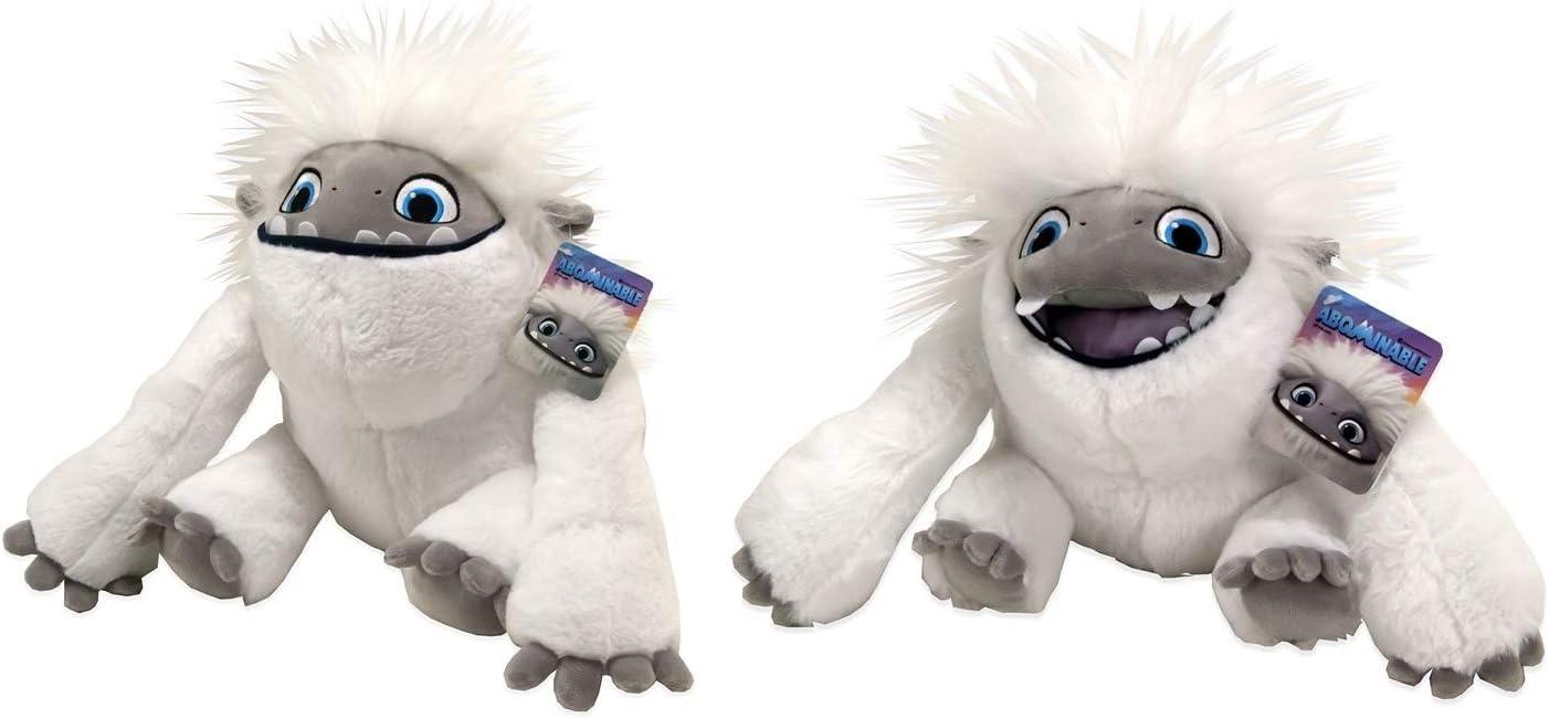 Amazon.es: dreamworks - Juego de 2 peluches de peluche de Everest The Yeti de 12 pulgadas: Juguetes y juegos