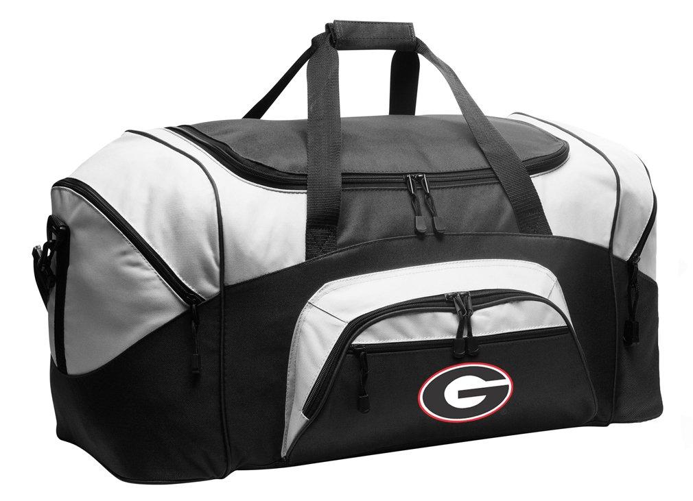 Large Georgia Bulldogs Duffel Bag University of Georgia Suitcase or Gym Bag for Men Or Her