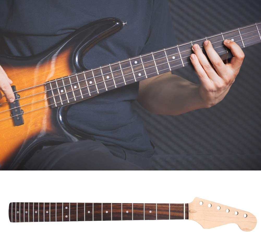 Mástil de guitarra eléctrica, mástil de madera de arce inacabado ...