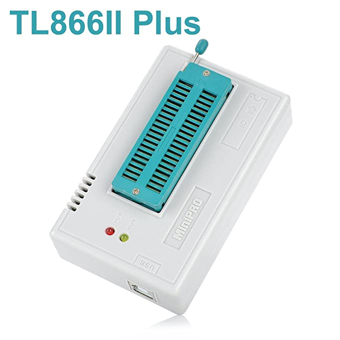 WINGONEER Programador BIOS EEPROM FLASH de alto rendimiento USB TL866II Plus para ATMEL AVR ATMEGA AT90 PIC GAL SRAM CMOS: Amazon.es: Electrónica