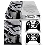 Cheap ZoomHit Xbox One S Console Skin Decal Sticker Star Wars StormTrooper + 2 Controller Skins Set (S Only)
