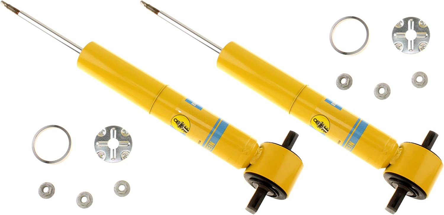 46MM GAS PRESSURE SHOCK ABSORBERS NEW BILSTEIN FRONT /& REAR SHOCKS FOR 07-14 CHEVY SUBURBAN 1500 /& GMC YUKON XL 1500 LT INCLUDING BASE 2007 2008 2009 2010 2011 2012 2013 2014 SLE LS SLT Z71