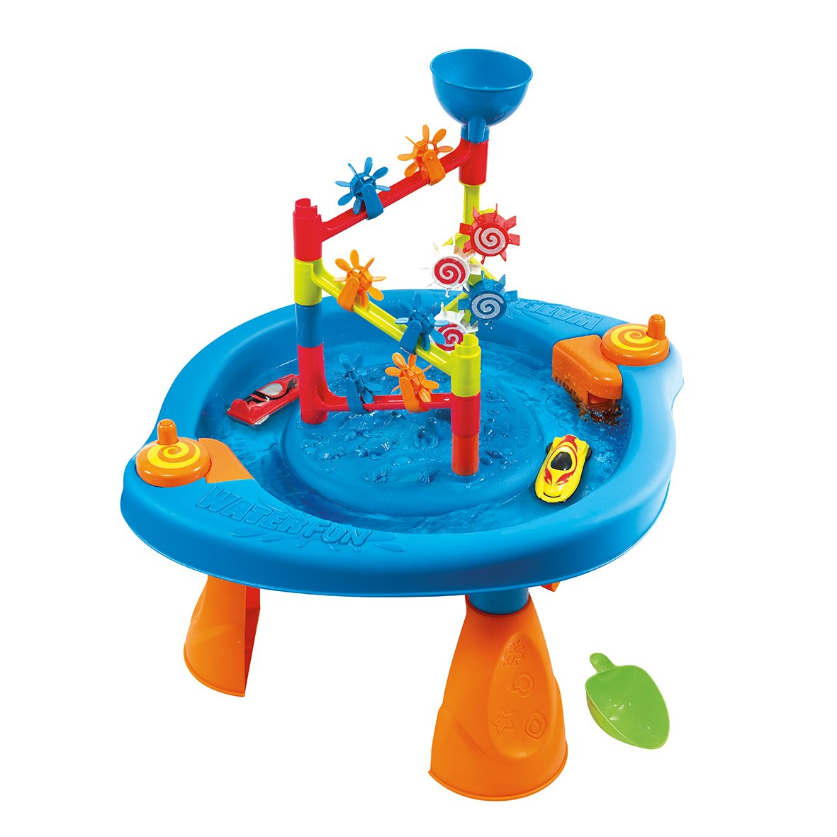 PlayGo Fun Wheels Water Activity Play Water Lawn Sprinklerse Toddlers Toys for 1 2 3 Year Old Pretend Play Activities by PlayGo (Image #1)