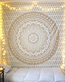 Mandala Hippy Tapestries Psychedelic Boho Bed Cover Indian Tapestries Beach Home Decorative Room