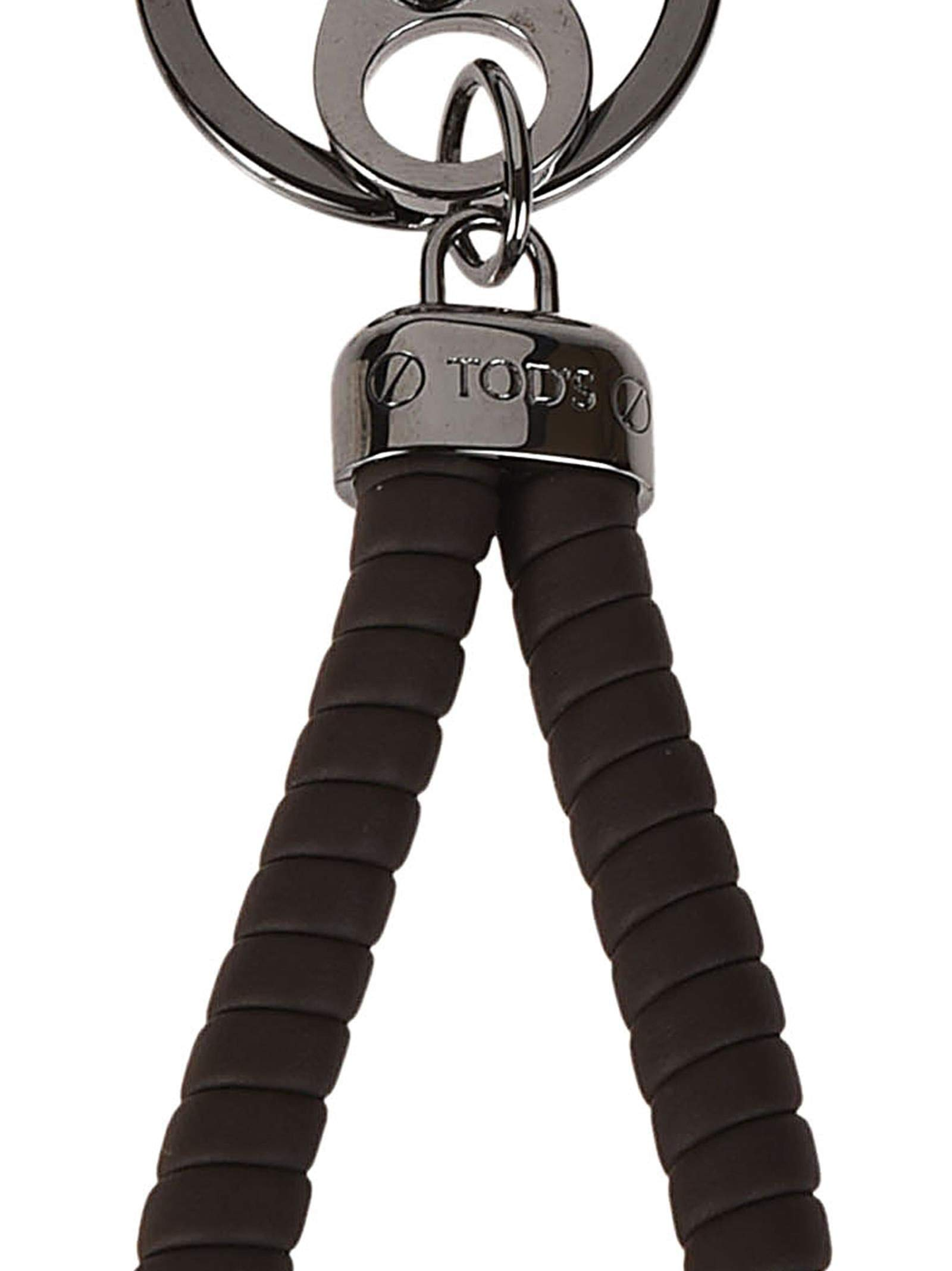 Tod's Men's Xambrvg0100flrs800 Brown Leather Key Chain by Tod's (Image #2)