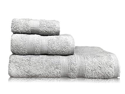 Puffy Cotton Gray Bath Towels Bathroom Sets Luxury Cheap Towels On Sale 1 X Bath Towel 1 X Hand Towel 1 X Wash Cloths 3 Peaces Set