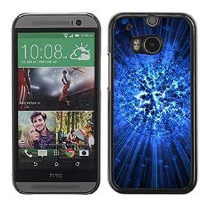 PC/Aluminum Funda Carcasa protectora para HTC One M8 Amazing abstract art / JUSTGO PHONE PROTECTOR