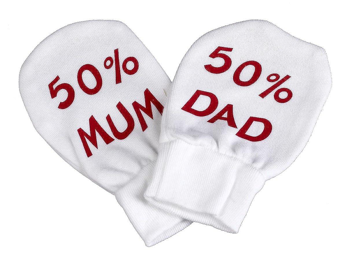 Red Boxing Baby 100/% Baumwolle Kratzhandschuhe F/äustlinge Handschuhe Spoilt Rotten