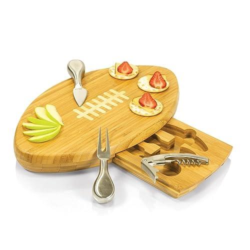 Amazon.com: Bandeja de bambú con herramientas para regalo de ...
