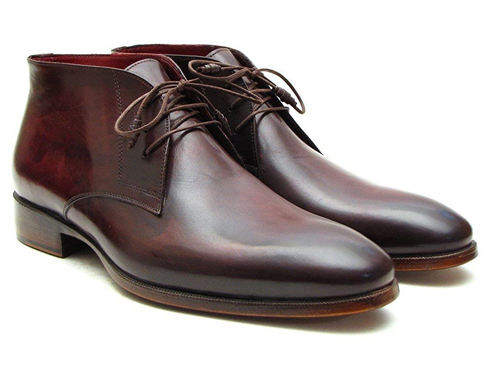 Paul Parkman , Herren Bootsschuhe Brown  Bordeaux  45 EU