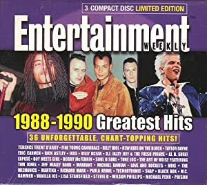 Various entertainment weekly greatest hits 1988 1990 3 for Best songs of 1988