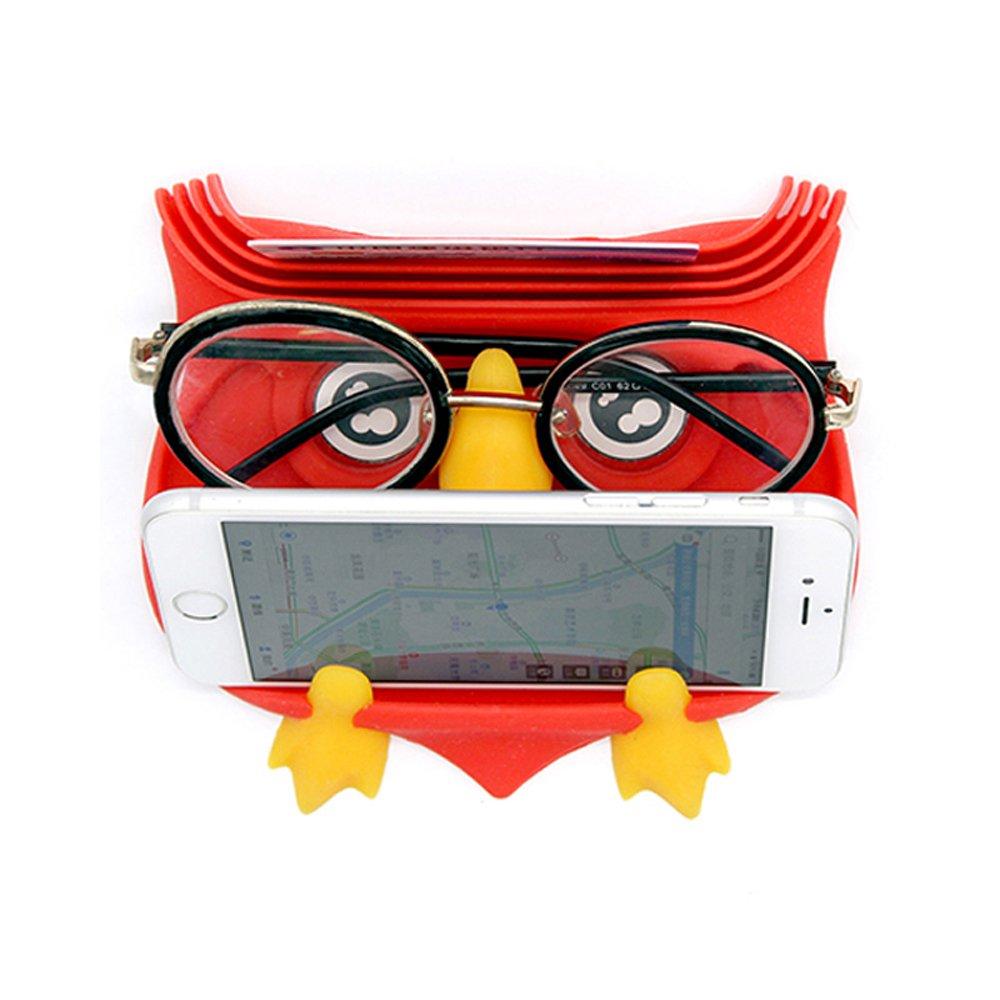 Silicone Cute Frog Mobile Phone Holder Anti-Slip mat Glasses Holder Non-Slip pad (Teal) XHY E-commerce Co. Ltd