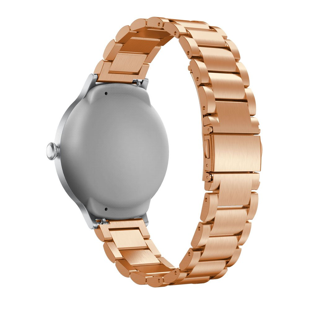 Alonea Genuine Stainless Steel Bracelet Smart Watch Band Strap For LG Watch Style (Rose Gold)