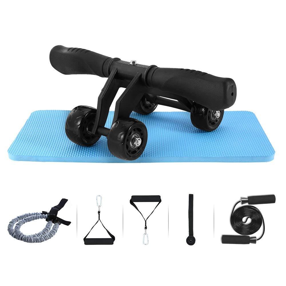 SYH01 it Set No Noise Abdominal Wheel Arm Waist Leg Multi-Functional Roller Wheel Abdominal Trainer Wheel Arm Waist Leg Exercise Multi-Functional Fitness Equipment Exercise