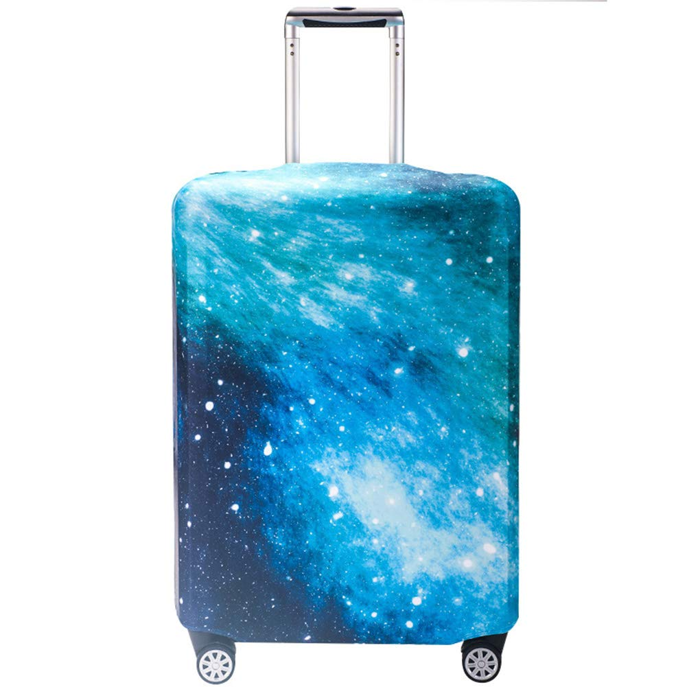 LDIW Travel Luggage Cover Trolley Case Protective Cover Elasticity Polyester Spandex Suitcase Protective Cover Fits 18-32 Inch Luggage,Meshpattern,S