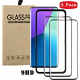 FanTing for Huawei Nova 5T Screen Protector,[9H Hardness,Full Coverage,No bubbles and fingerprint],Scratch-resistant high-quality tempered glass film for Huawei Nova 5T-Black(3 Pack)