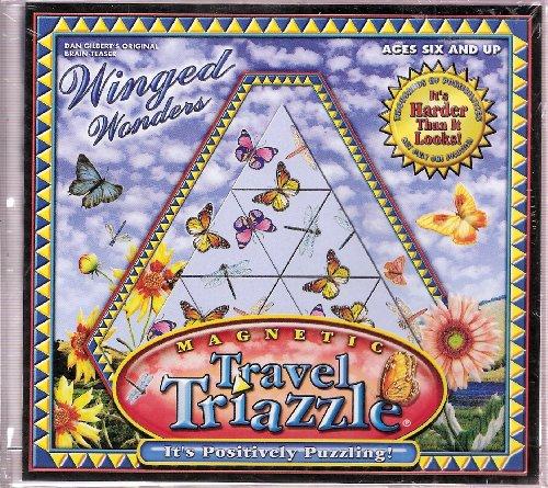 Winged Wonders (Magnetic Travel Triazzle) Dan Gilbert's Original Brain-Teaser