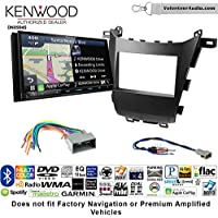 Volunteer Audio Kenwood Excelon DNX994S Double Din Radio Install Kit with GPS Navigation Apple CarPlay Android Auto Fits 2013-2016 Honda Accord