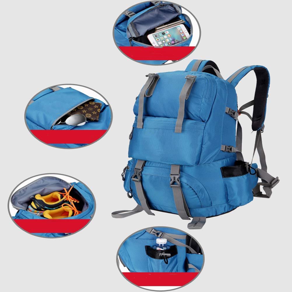 ZXL6 Large Rucksack Travel Hiking Camping Mountaineering Backpack Outdoor Men Women Cycling Waterproof Luggage Bag Lightweight