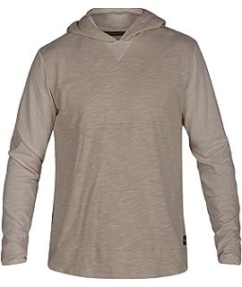 Hurley Mens Premium Warped Long Sleeve Hoodie Tshirt