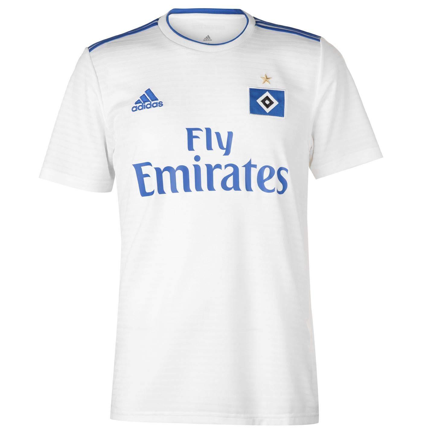 91cbbf11cb8 Amazon.com   adidas 2018-2019 Hamburg Home Football Soccer T-Shirt Jersey    Sports   Outdoors